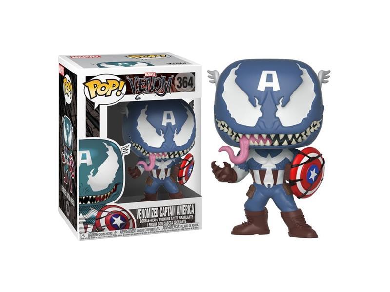Figurka Funko POP Marvel: Marvel Venom - Venom/Captain America