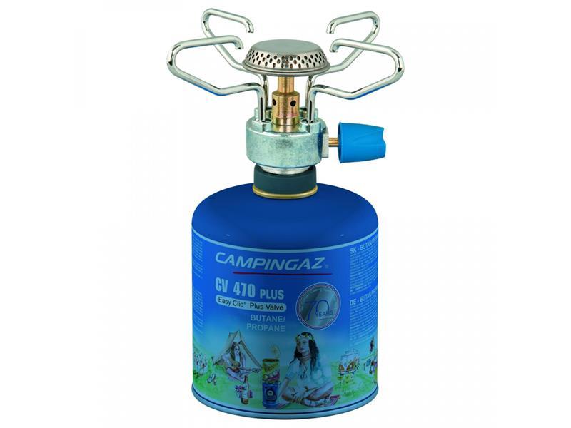 Vařič plynový CAMPINGAZ BLEUET MICRO PLUS + kartuše CV 470 PLUS