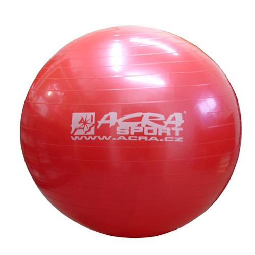 Míč gymnastický 750mm červený S3213