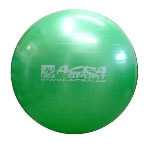 Míč gymnastický 750mm zelený S3213