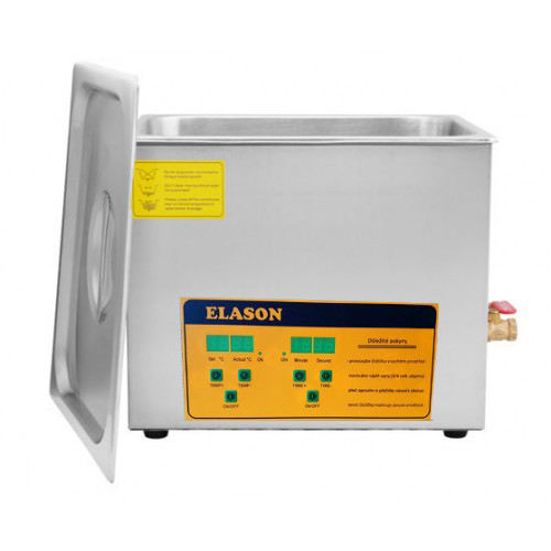 Čistička ultrazvuková ELASON 10L ORANGE digitální