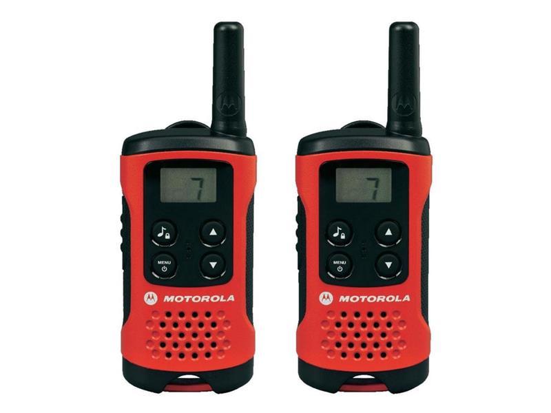 Vysílačky MOTOROLA TLKR T40 RED