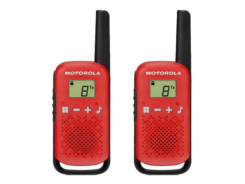 Vysílačky MOTOROLA TLKR T42 RED