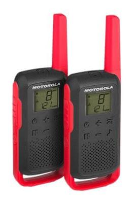 Vysílačky MOTOROLA TLKR T62 RED