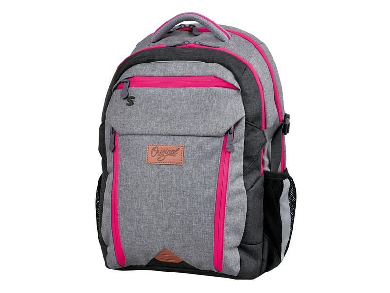 Batoh studentský Original pink STIL