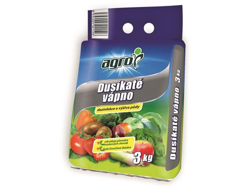 Vápno dusíkáte AGRO 3 kg