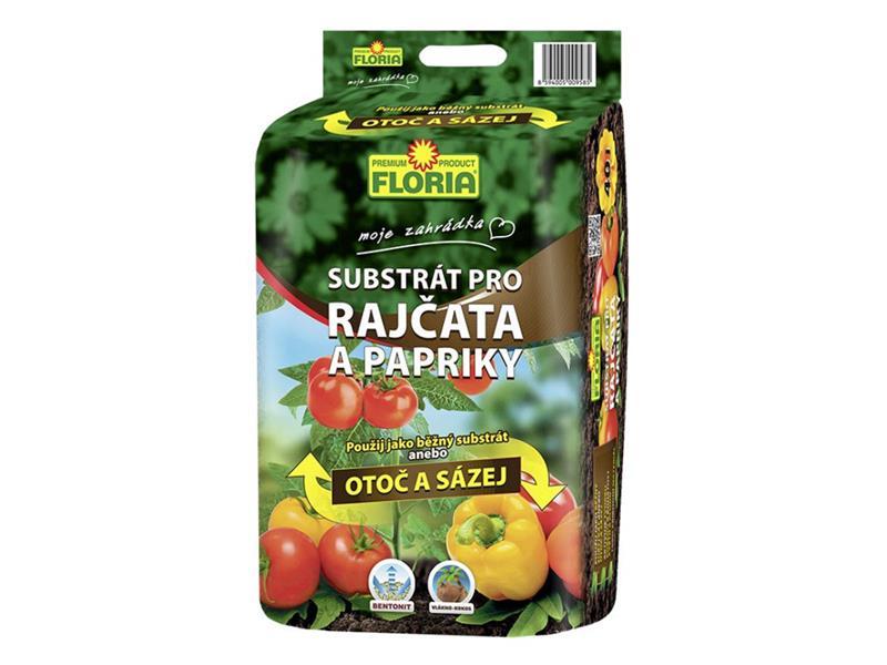 Substrát pro rajčata a papriky FLORIA 40l
