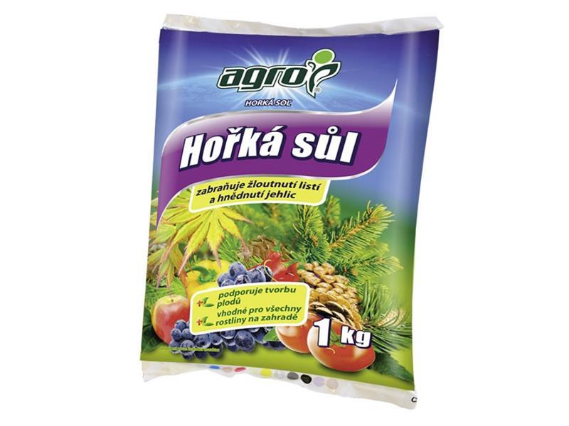 Hnojivo granulované AGRO HOŘKÁ SŮL 1 kg