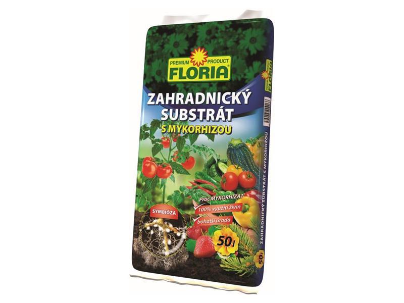 Substrát zahradnický FLORIA MYKORHIZA 50L