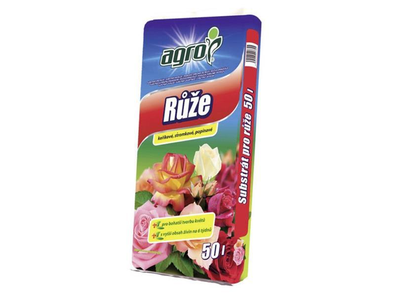 Substrát pro růže AGRO 50L