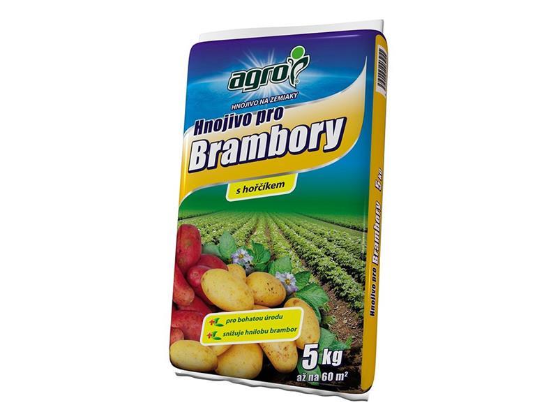 Hnojivo granulované AGRO BRAMBORY 5 kg