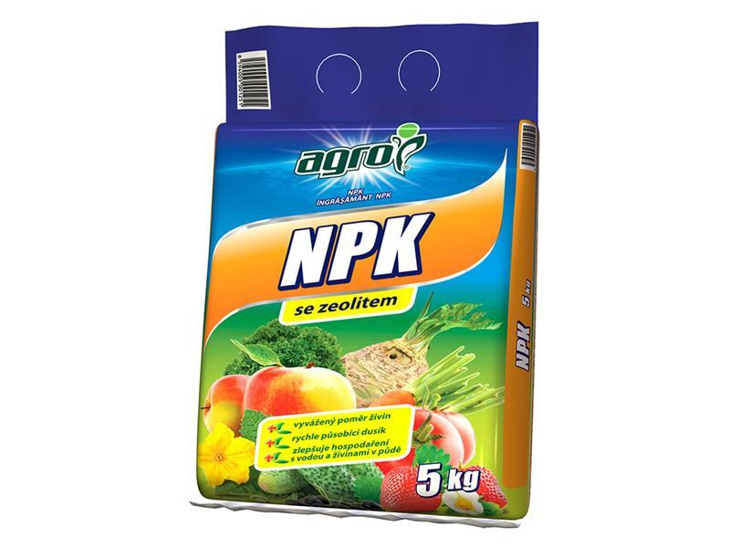 Hnojivo minerální AGRO NPK 5 kg