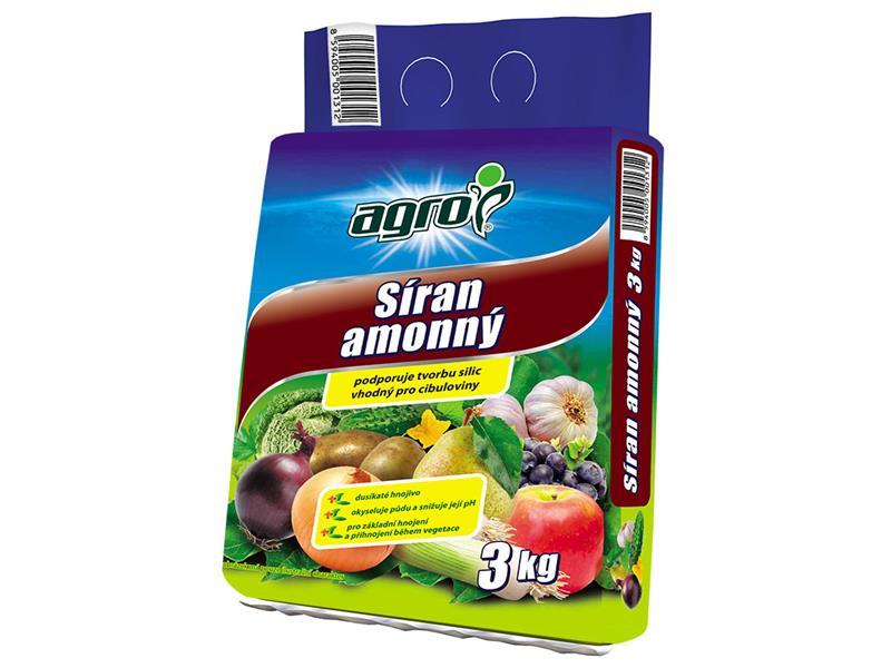 Hnojivo minerální AGRO SÍRAN AMONNÝ 3 kg