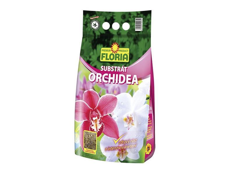 Substrát pro orchideje FLORIA 3L