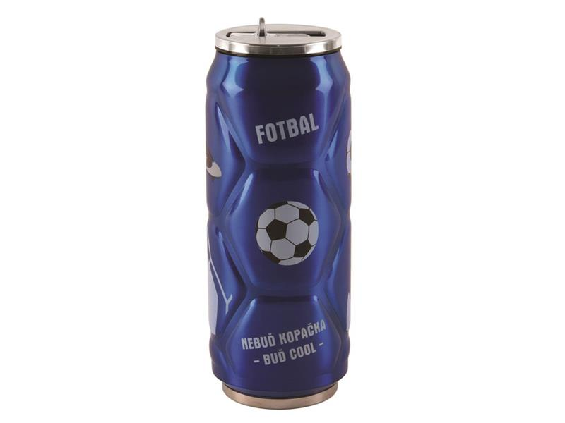 Termoska ORION FOTBAL BLUE 0.5L