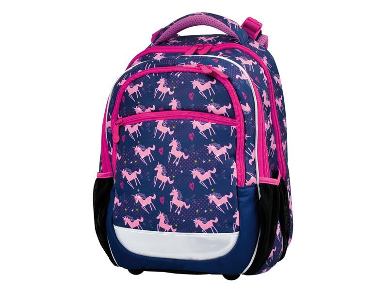 Batoh školní Pink Unicorn STIL