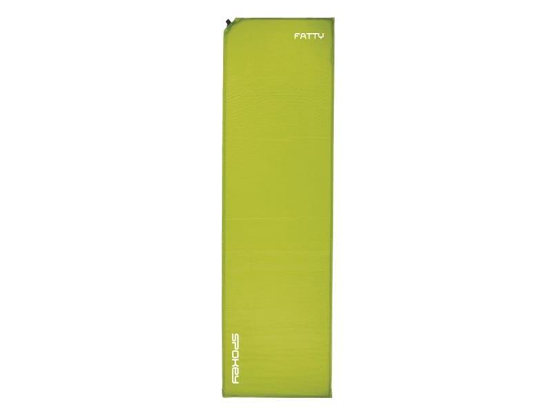 Karimatka SPOKEY FATTY samonafukovací 5cm zelená