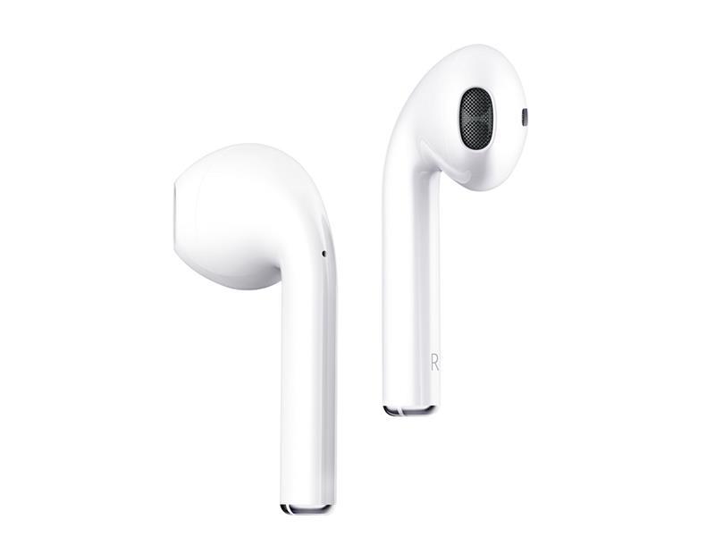 Sluchátka do uší DEVIA TWS BT5.0 WHITE BLUETOOTH