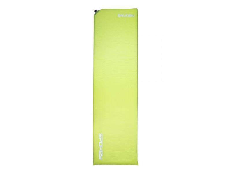Karimatka SPOKEY SAVORY samonafukovací 2,5cm světle zelená