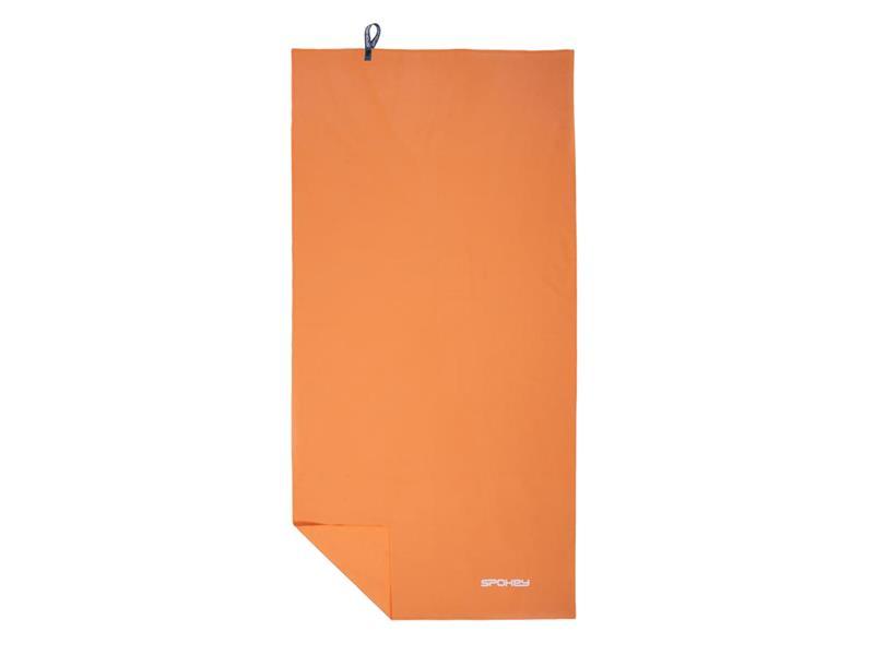 Ručník SPOKEY SIROCCO rychleschnoucí 60x120 oranžový s odnímatelnou sponou