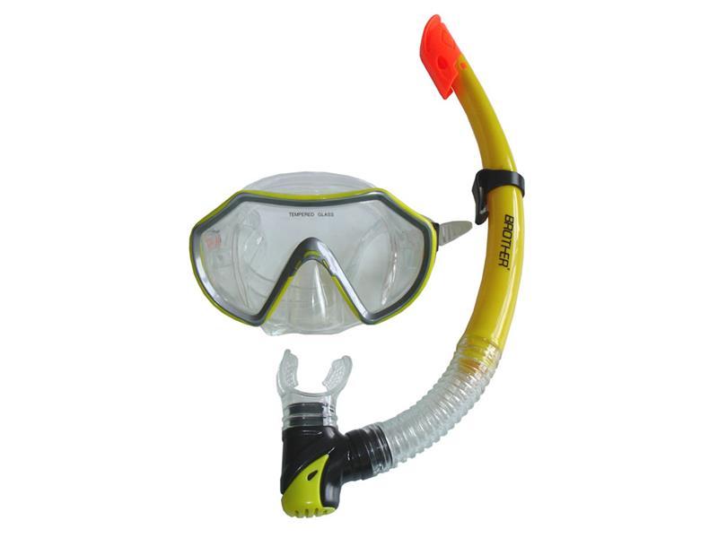 Sada potápěčská BROTHER P1542-63 žlutá