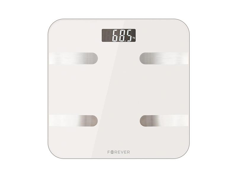 Váha osobní FOREVER AS-100 WHITE