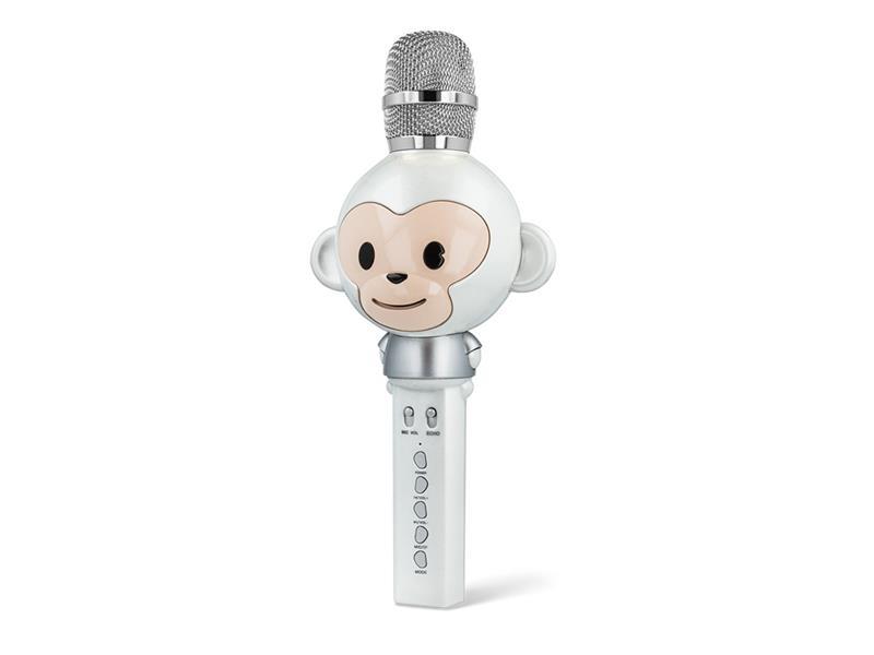 Karaoke mikrofon FOREVER AM-100 WHITE