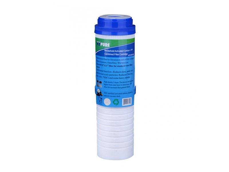 """Filtr na vodovodní řád ICEPURE ICP-GAC10P dvoufázová filtrační vložka / aktivní uhlí 10"""""""