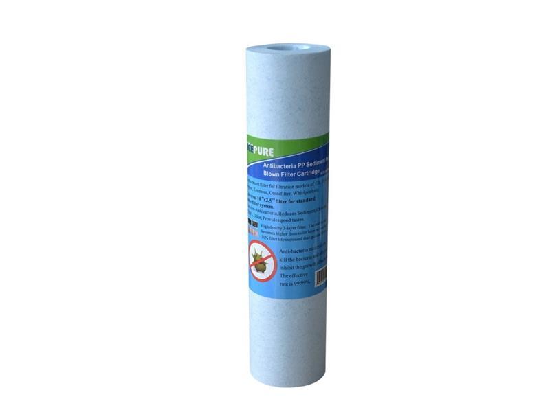"""Filtr na vodovodní řád ICP-YPP10 antibakteriální / filtrační vložka 10"""" / 5 mikronů"""