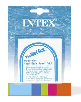 Záplaty k bazénům INTEX 6ks