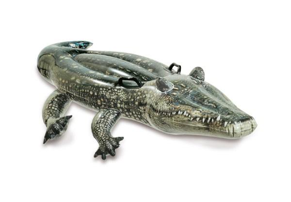 Dětské lehátko TEDDIES krokodýl 170x86cm