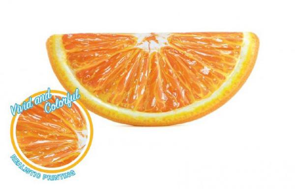 Dětské lehátko TEDDIES pomeranč 178x85cm