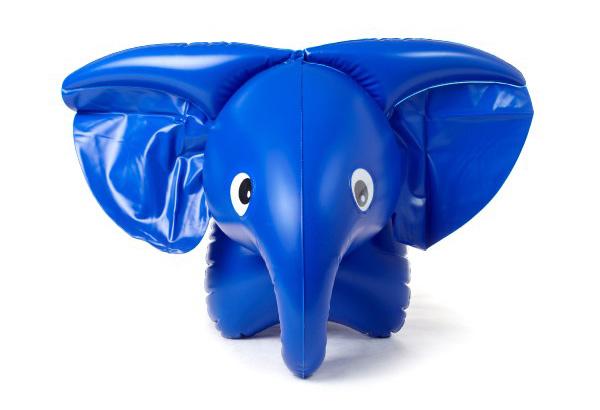 Dětský slon INTEX pískací 76x53cm