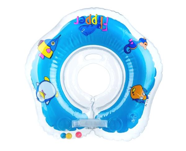 Dětský nákrčník TEDDIES FLIPPER BLUE