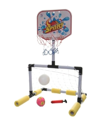 Basketbal do vody INTEX 2v1 47 cm