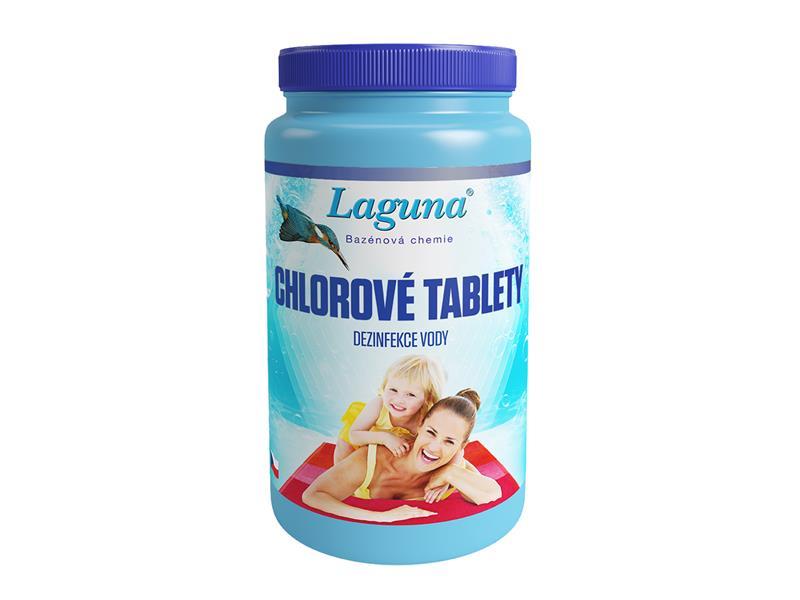 Chemie LAGUNA chlorové tablety 1 kg