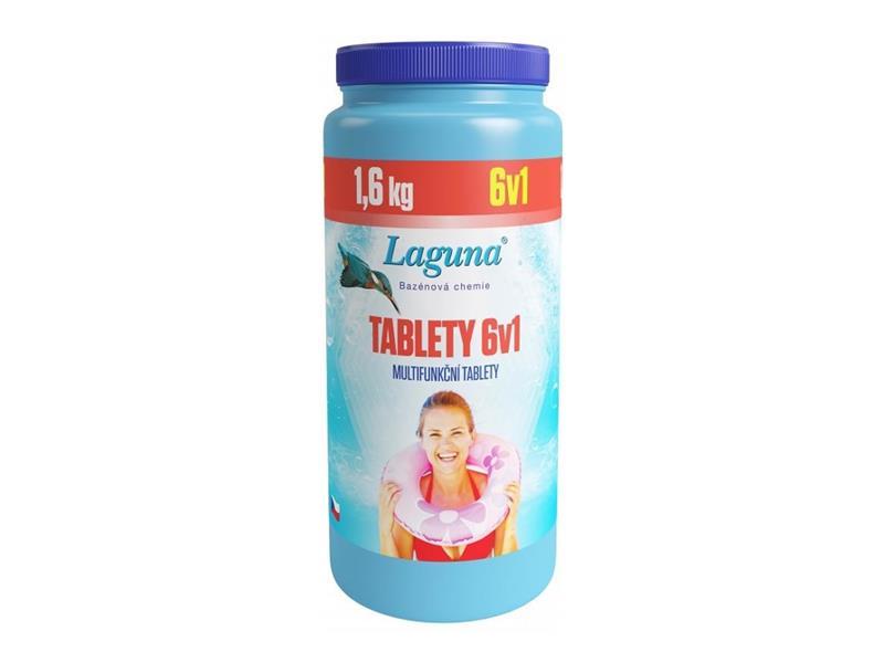 Chemie LAGUNA multifunkční tablety 6v1 1.6 kg
