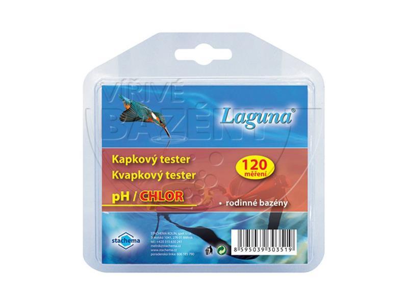 Tester pH a chlor LAGUNA kapkový
