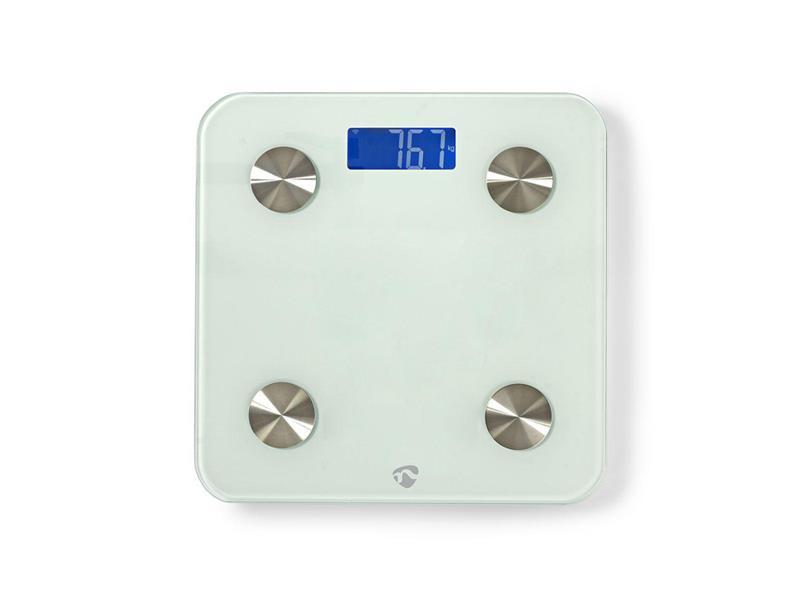 Smart osobní váha NEDIS WIFIHS10WT WiFi SmartLife