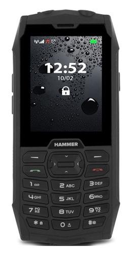 Telefon MYPHONE HAMMER 4 BLACK