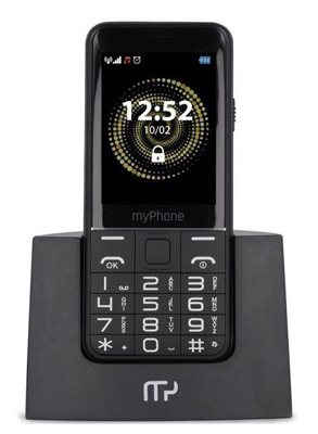 Telefon MYPHONE HALO Q SENIOR BLACK