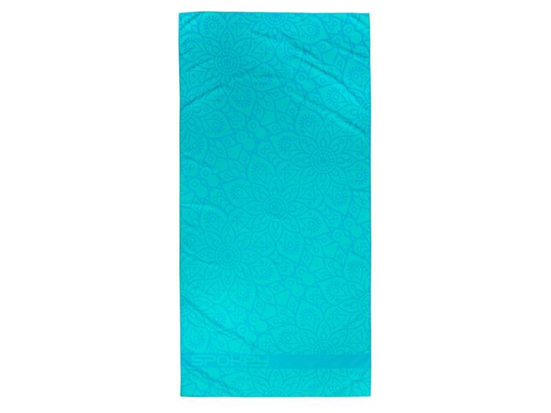 Ručník SPOKEY MANDALA rychleschnoucí plážový ručník, tyrkysový, 80x160cm