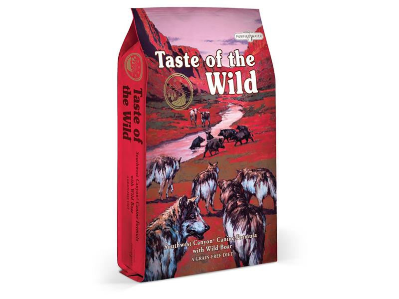 Granule TASTE OF THE WILD SOUTHWEST CANYON CANINE 13 kg