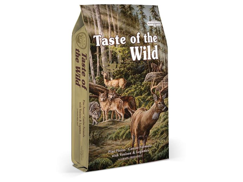 Granule TASTE OF THE WILD PINE FOREST 13 kg