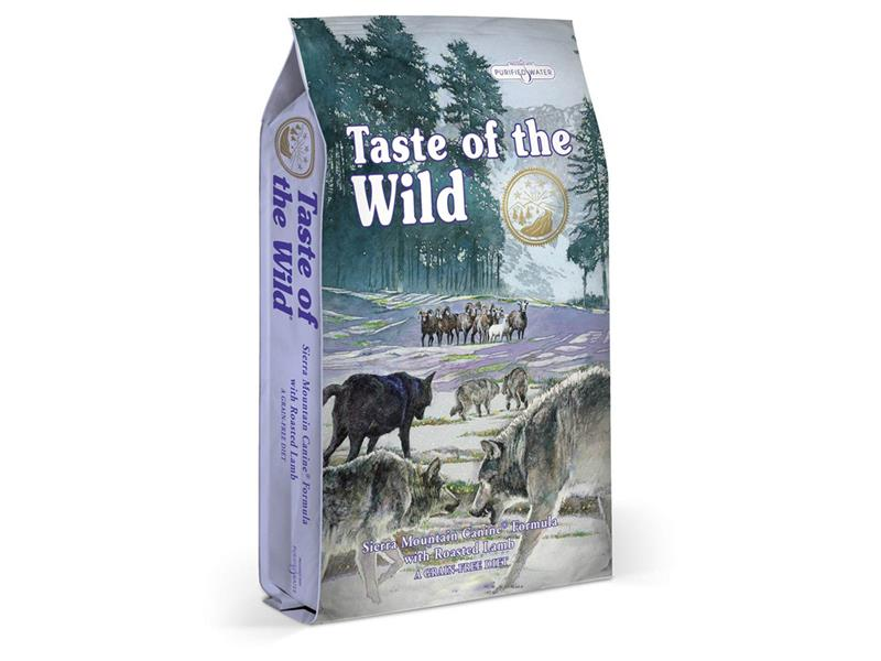 Granule TASTE OF THE WILD SIERRA MOUNTAIN CANINE 6 kg