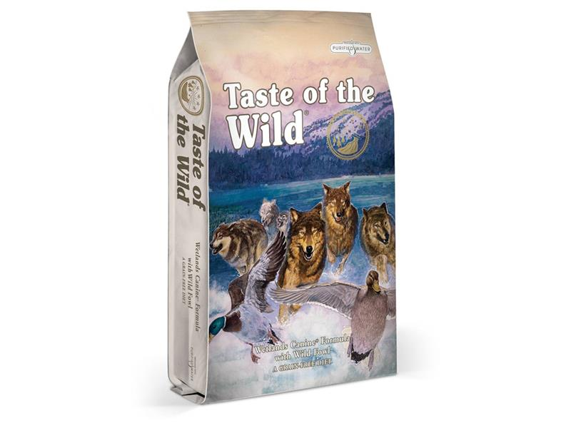 Granule TASTE OF THE WILD WETLANDS CANINE 13 kg