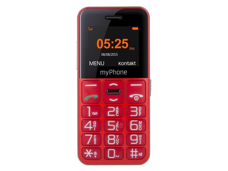 Telefon MYPHONE HALO EASY SENIOR RED