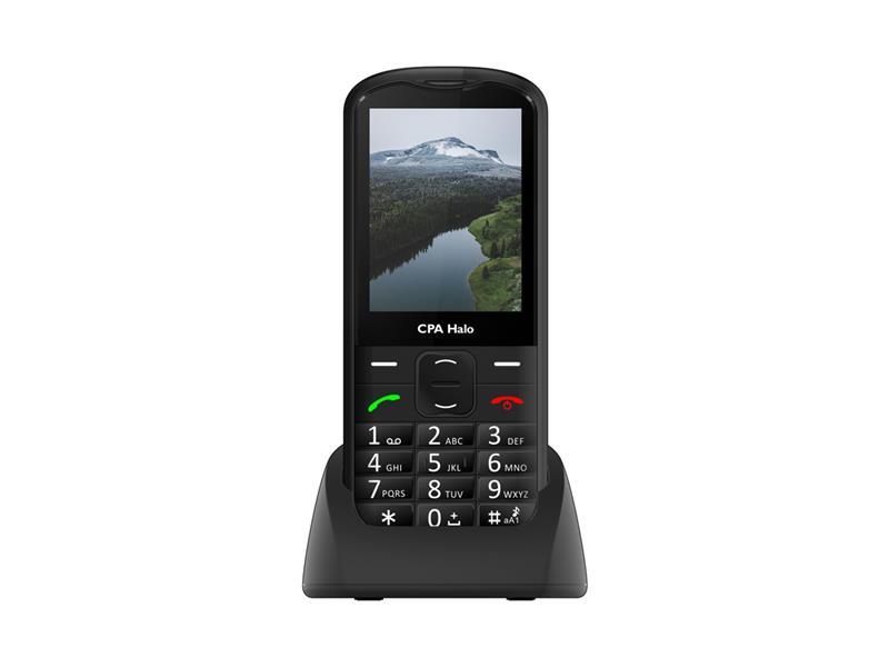 Telefon CPA HALO 18 SENIOR BLACK