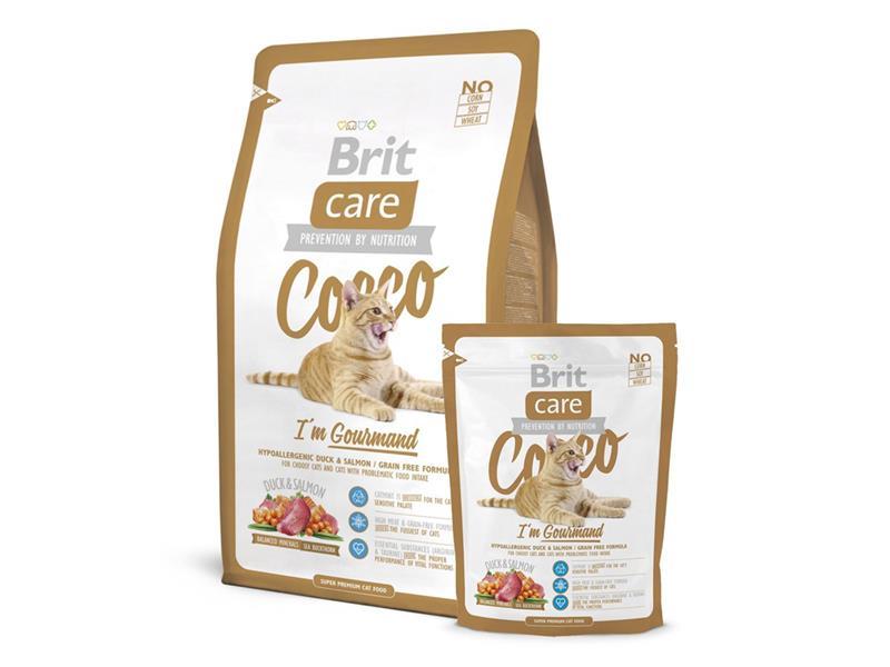 Granule BRIT CARE CAT COCCO I'M GOURMAND 7 kg