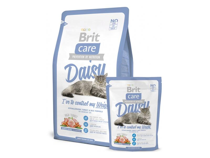 Granule BRIT CARE CAT DAISY I'VE TO CONTROL MY WEIGHT 7 kg